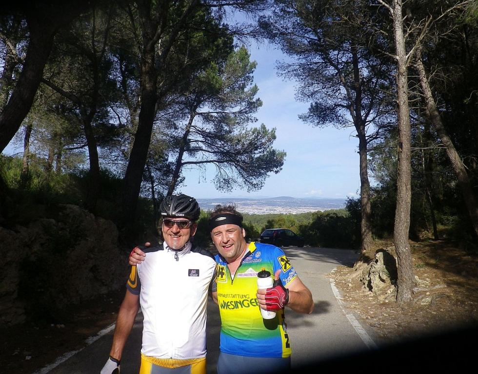 Westküstentour - zwei Kämpfer kurz vor Palma