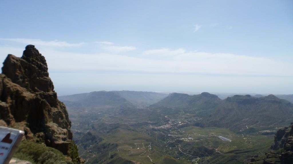 Blick vom Pico nach St. Bartalomä